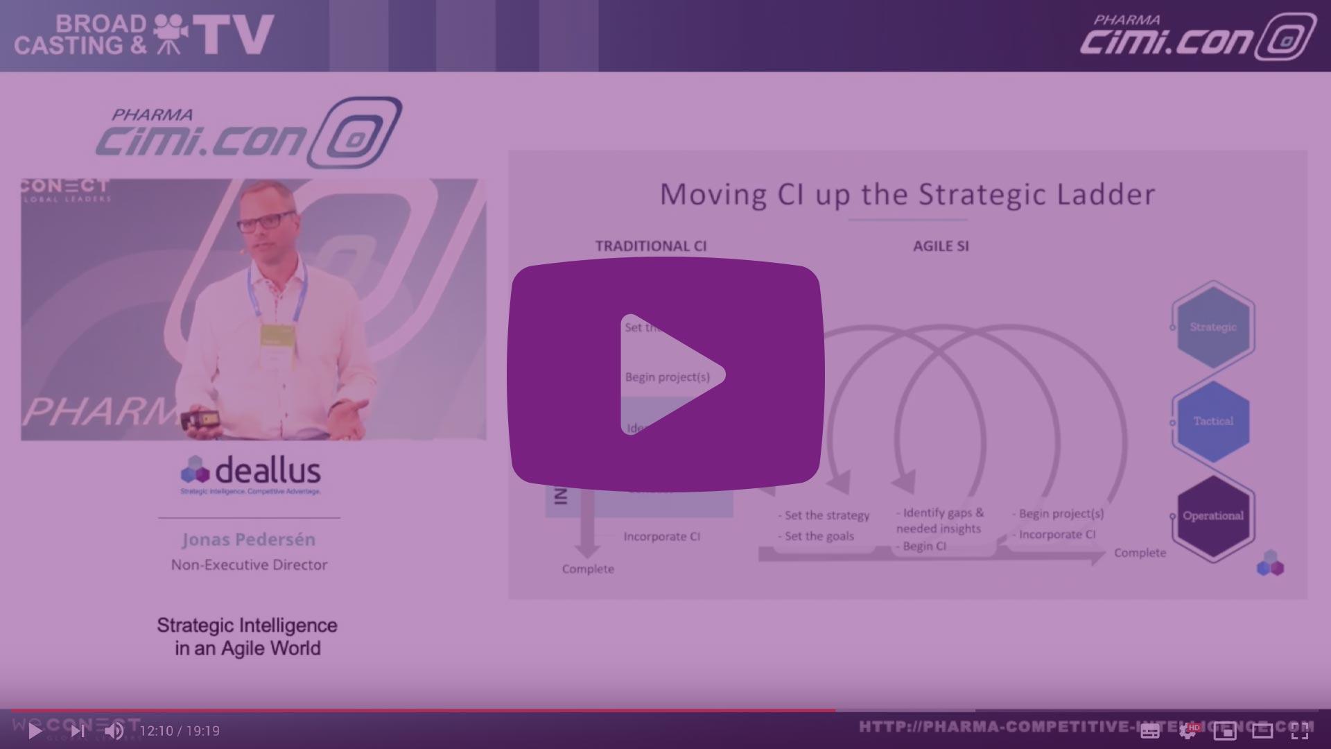 Deallus Keynote at Pharma CiMi.CON EU 2019