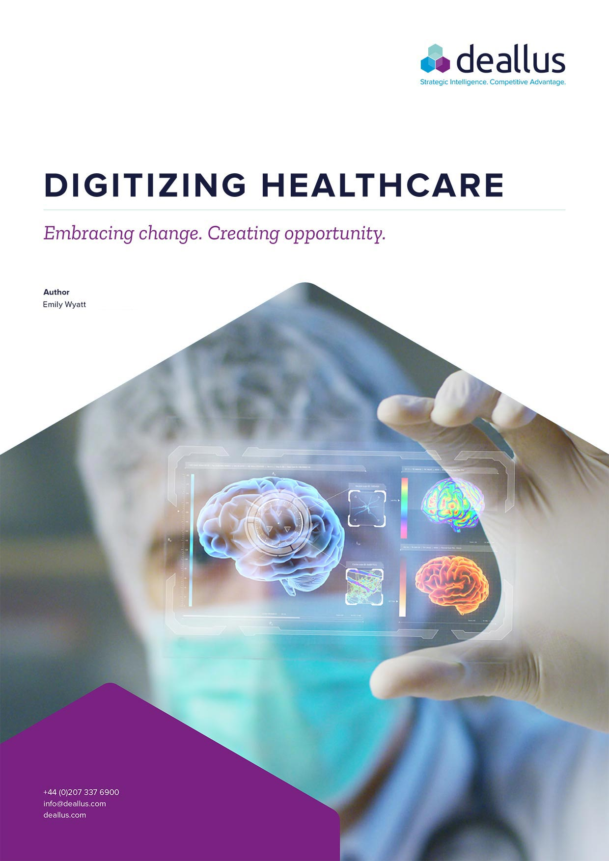 Digitizing Healthcare White Paper from Deallus