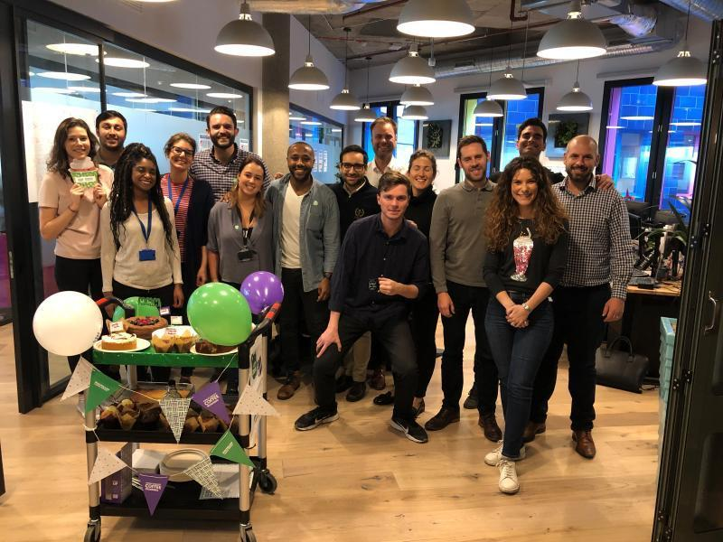 Deallus London MacMillan Coffee Morning